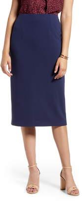 Halogen Knit Pencil Skirt