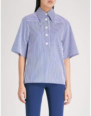 Joseph Striped cotton shirt