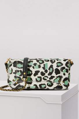 Jerome Dreyfuss Bob leopard crossbody bag