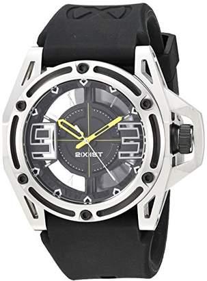 2xist 2(X) IST Men's 2X1-011 NYC Analog Display Analog Quartz Black Watch