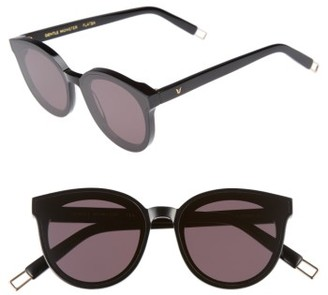 Women's Gentle Monster Black Peter 61Mm Rounded Sunglasses - Black $249 thestylecure.com