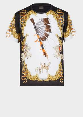 Versace Native Americans Tribute T-shirt