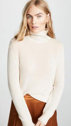 Roche Ryan Oversized Boyfriend fit T Neck Cashmere Sweater