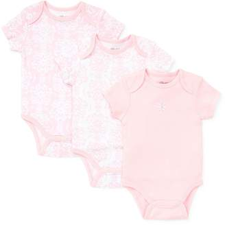 Little Me Baby's 3-Pack Damask Bodysuits