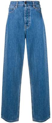 Calvin Klein Jeans Est. 1978 high waisted wide leg jeans