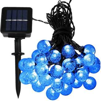 The Holiday Aisle 30 Count LED Solar Powered Globe String Light