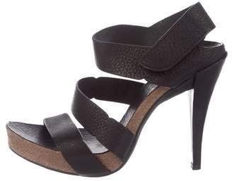 Pedro Garcia Leather Platform Sandals