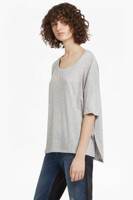 French Connection Hetty Marl Oversized Jersey T-Shirt