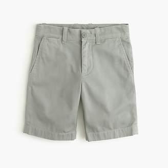 J.Crew Boys' Stanton short in garment-dyed chino