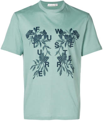 Golden Goose floral slogan T-shirt