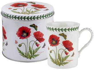 Portmeirion Botanic Garden Mug and Tin Set - Poppy