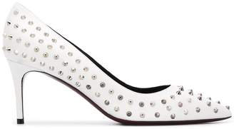 Deimille studded pointed pumps