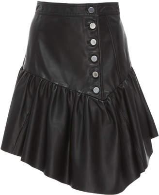 Marissa Webb Jude Leather Skirt