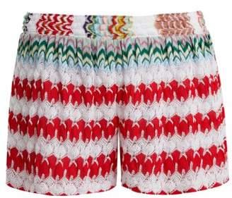 Missoni (ミッソーニ) - MISSONI MARE High-waist knit shorts