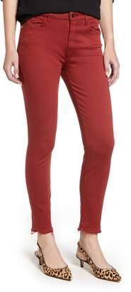 Jen7 Release Hem Colored Ankle Skinny Jeans