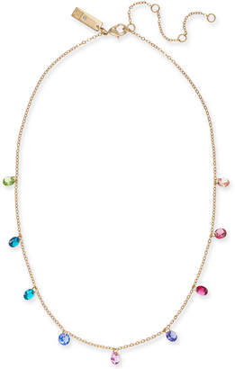 """INC International Concepts I.N.C. Gold-Tone Stone Dangle Collar Necklace, 16"""" + 3"""" extender, Created for Macy's"""