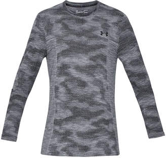 Under Armour Men Threadborne Seamless Camo Long-Sleeve T-Shirt