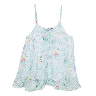 4cbce83c0 3 Pommes Girl's 3n19024 Tunic Vest, White 01, (Size: 7A/8A