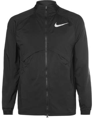 Nike Running Shield Packable Mesh And Shell Jacket
