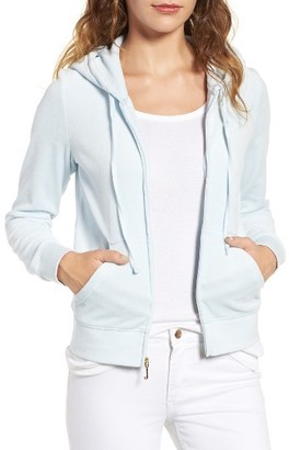 Women's Juicy Couture Robertson Velour Hoodie $108 thestylecure.com