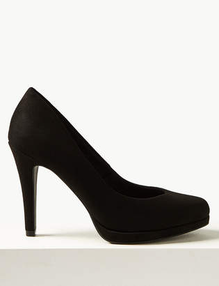 Marks and Spencer Stiletto Platform Court Shoes
