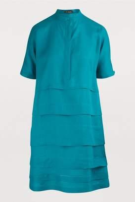 Loro Piana Thelma short-sleeved dress