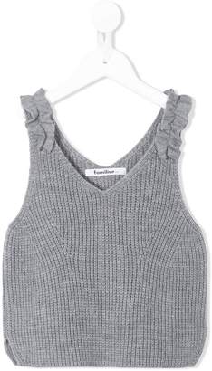 Familiar knitted top