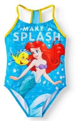 Disney Little Mermaid Ariel LIttle Girls' 4-6X One-Piece Swimsuit