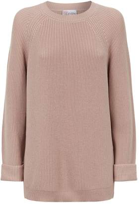 RED Valentino Side Button Sweater
