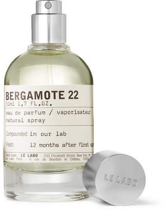 Le Labo Bergamote 22 Eau de Parfum, 50ml - Colorless