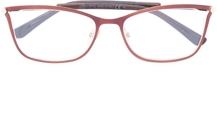 Jimmy ChooJimmy Choo squared glasses