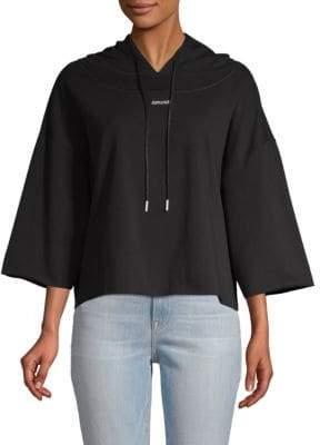Drawstring Hooded Sweater