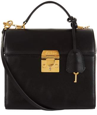 Mark Cross Sara Caviar Shoulder Bag