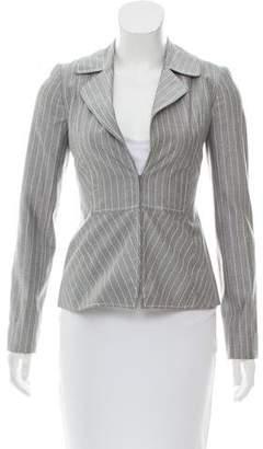 Valentino Wool-Blend Pinstripe Blazer