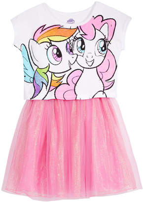 My Little Pony Printed Popover Dress, Toddler Girls