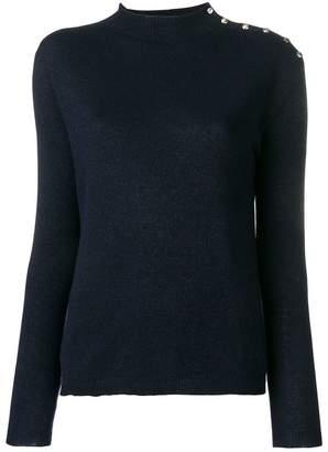 Liu Jo mock knit sweater