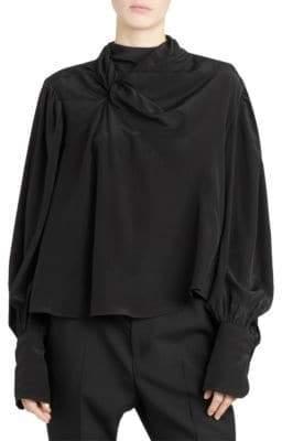 Isabel Marant Huntley Twist Silk Blouse
