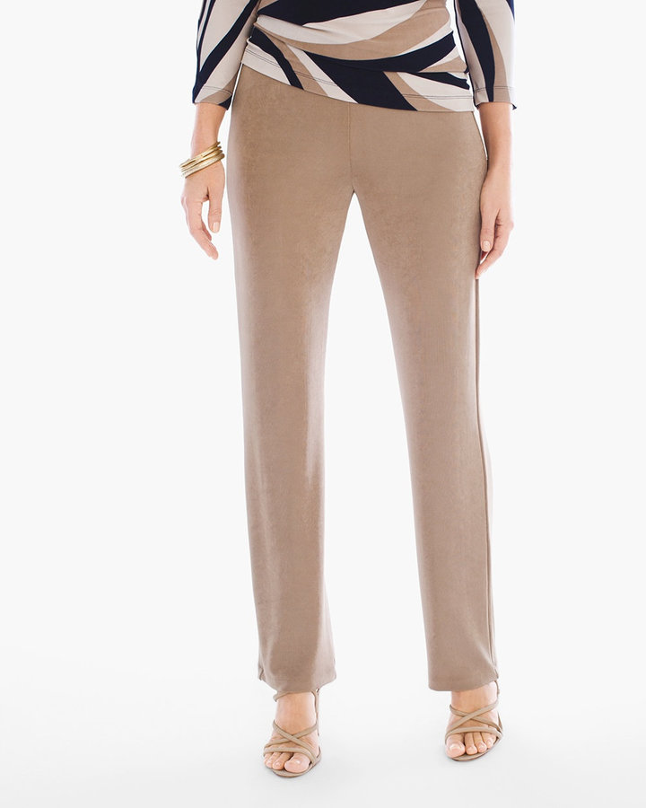 No Tummy Pant in Antique Beige