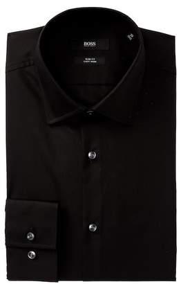 HUGO BOSS Jenno Slim Fit Easy Iron Dress Shirt
