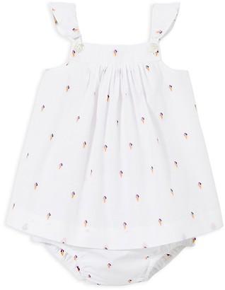 Jacadi Girls' Ice Cream Cone Dress & Bloomers Set - Baby $79 thestylecure.com