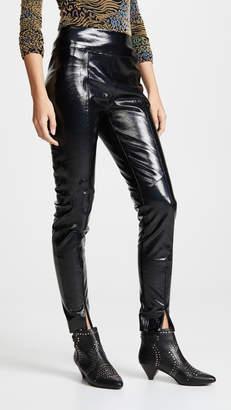 Michelle Mason Skinny Pants With Zipper