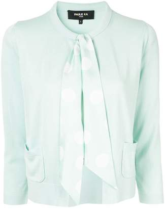 Paule Ka ribbon-embellished cardigan