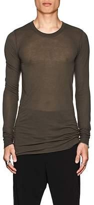 Rick Owens Men's Elongated Long-Sleeve T-Shirt