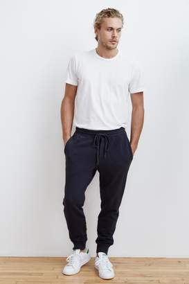 Velvet by Graham & Spencer HUBERT FRENCH TERRY CUFFED SWEATPANT