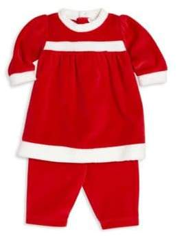 Kissy Kissy Baby's Dress& Tapered Pants Set
