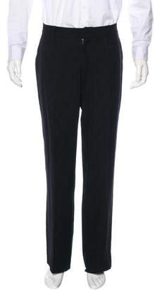 Gianni Versace Pleated Wool Pants
