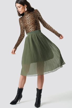 NA-KD Na Kd Pleated Midi Skirt