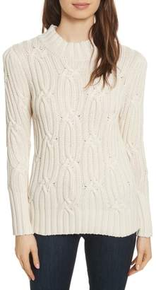Rebecca Taylor Cable Knit Sweater