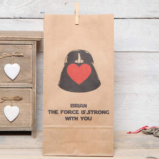 Star Wars red berry apple Personalised Gift Bag