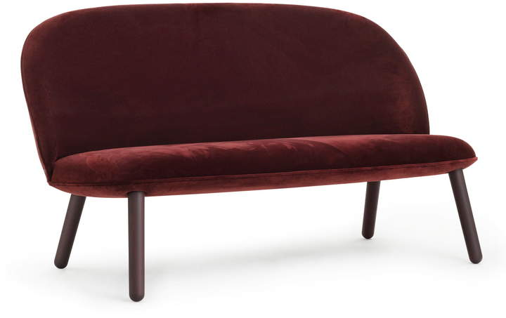 Normann Copenhagen - Ace Sofa Velour, dark red